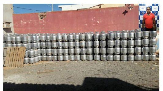 A carga foi encontrada no depósito de Silvaneto na cidade de Cafarnaum/BA. FOTO: Central Notícias