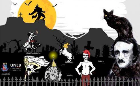 Cinema, teatro e poesia envolvem o setor acadêmico em Seabra com a realização da terceira edição do 'What nós temos de Halloween?' | FOTO: Divulgação |