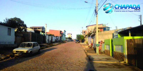 Rua João de Souza Pondé FOTO: Chapada News