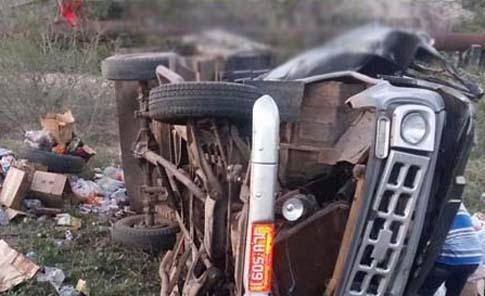 Acidente com carro mata edil do PSC | FOTO: Divulgação/Iaçu Notícias |