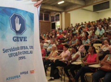 Ufba, UFRB, UFob, UFSB e Unilab foram afetadas | Foto: Divulgação / Assufba
