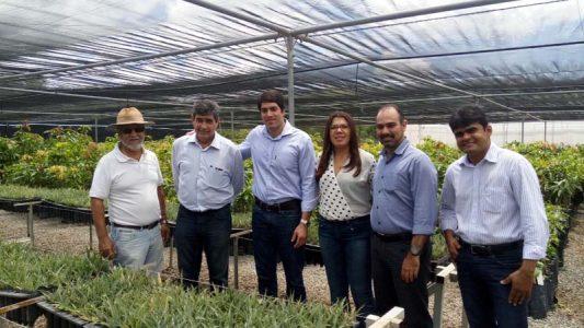 Otto Alencar Filho informou que a caravana da Desenbahia percorreu a região com potencial para se consolidar como polos agroindustriais | FOTO: Reprodução/Desenbahia |