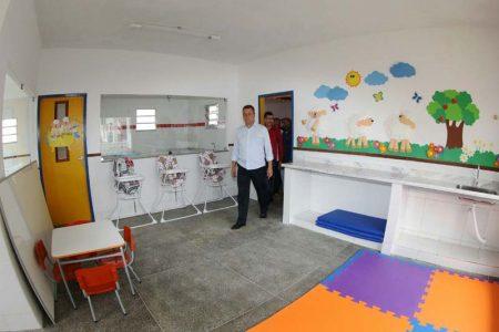 Governador Rui Costa inaugura creche no distrito de Catuaba, no município de Bonito | FOTO: Manu Dias/GOVBA |