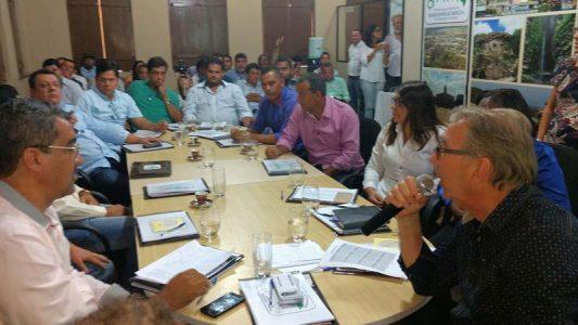 Prefeitos eleitos participam de encontro do consórcio Chapada Forte | FOTO: Divulgação |