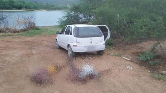 Vítimas de Homicídio. FOTO: Boquira em Ação
