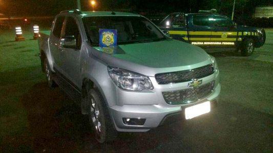 O assalto tinha acontecido por volta das 20h20, na cidade de Boa Vista do Tupim, por dois homens armados | FOTO: Reprodução/PRF-BA |