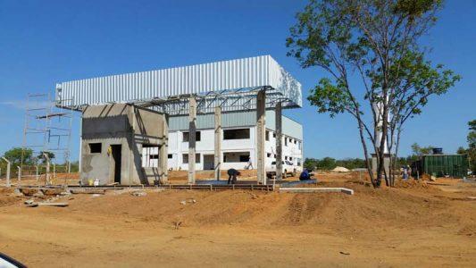 Com voos para Salvador e Belo Horizonte, o aeroporto de Lençóis, na Chapada Diamantina, vai abrigar a segunda Bavan em construção | FOTO: Reprodução/Seinfra |