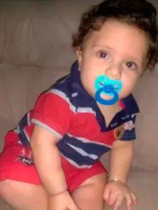 Bebê morreu em outubro (Foto: Reprodução/TV Santa Cruz)