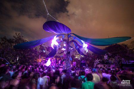 Última edição do Ressonar Festival, quando ainda era na Cratera, em Lençóis | Foto: Açony Santos
