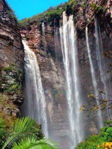 Desde 2013 que a cachoeira do Herculano passou a pertencer ao território de Andaraí   FOTO: Reprodução/Guia Chapada Diamantina/Orlando Bernadino  