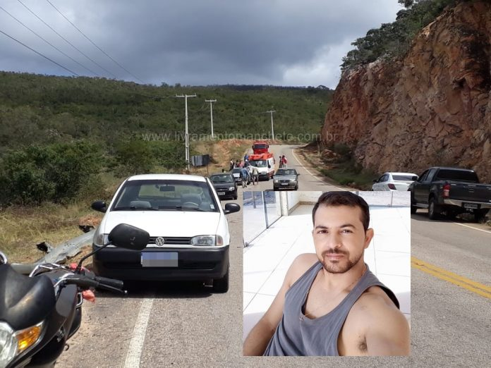 Rio de Contas/BA: Motorista morre após pular de cabine de caçamba na BA-148